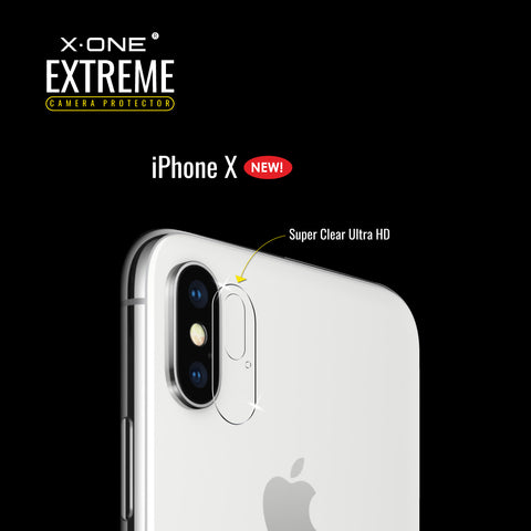 X.One® Antishock Camera Lens for Apple iPhone X