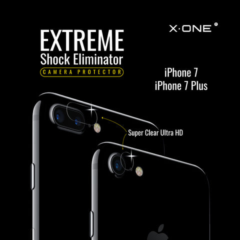 X.One® Antishock Camera Lens for Apple iPhone 7/7 Plus