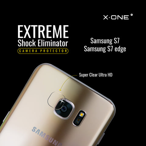 X.One® Antishock Camera Lens for Samsung S7 Edge