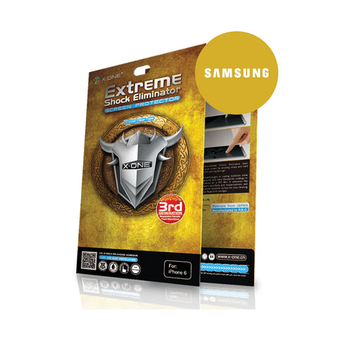 X.One® Extreme Shock Eliminator Screen Protector For Samsung