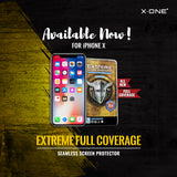 X.One® Extreme Shock Eliminator 2.5D Full Cover for Apple