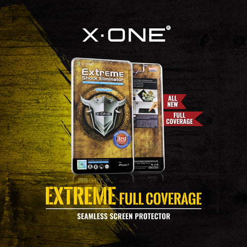 X.One® Extreme Shock Eliminator 2.5D Full Cover for Apple iPhone 6/6 Plus and iPhone 7/7 Plus