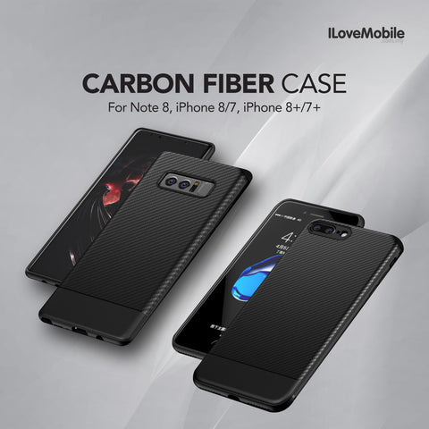 Carbon Fiber Case for Apple and Samsung