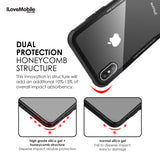 Zencase Dual Glass Case for iPhone X, 8/7/6 and Plus