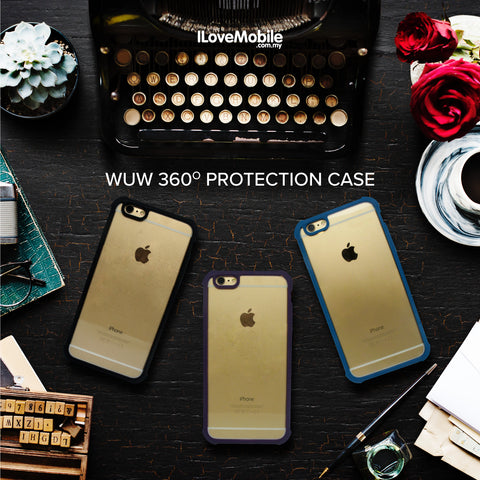 WUW 360° Protection for iPhone 6/6S and 6+/6S+