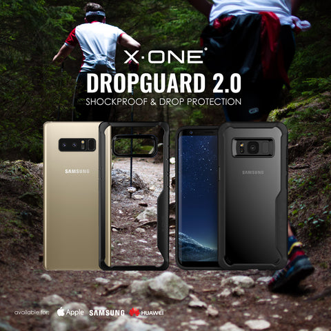 X.One® Dropguard 2.0 for Samsung Galaxy Note 8 & Samsung Galaxy S8/S8 Plus