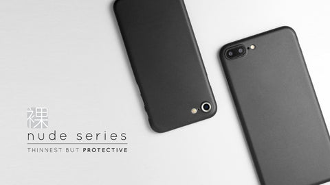 Zencase Nude Series for iPhone 6/6S, 6+/6S+ & 7/7+