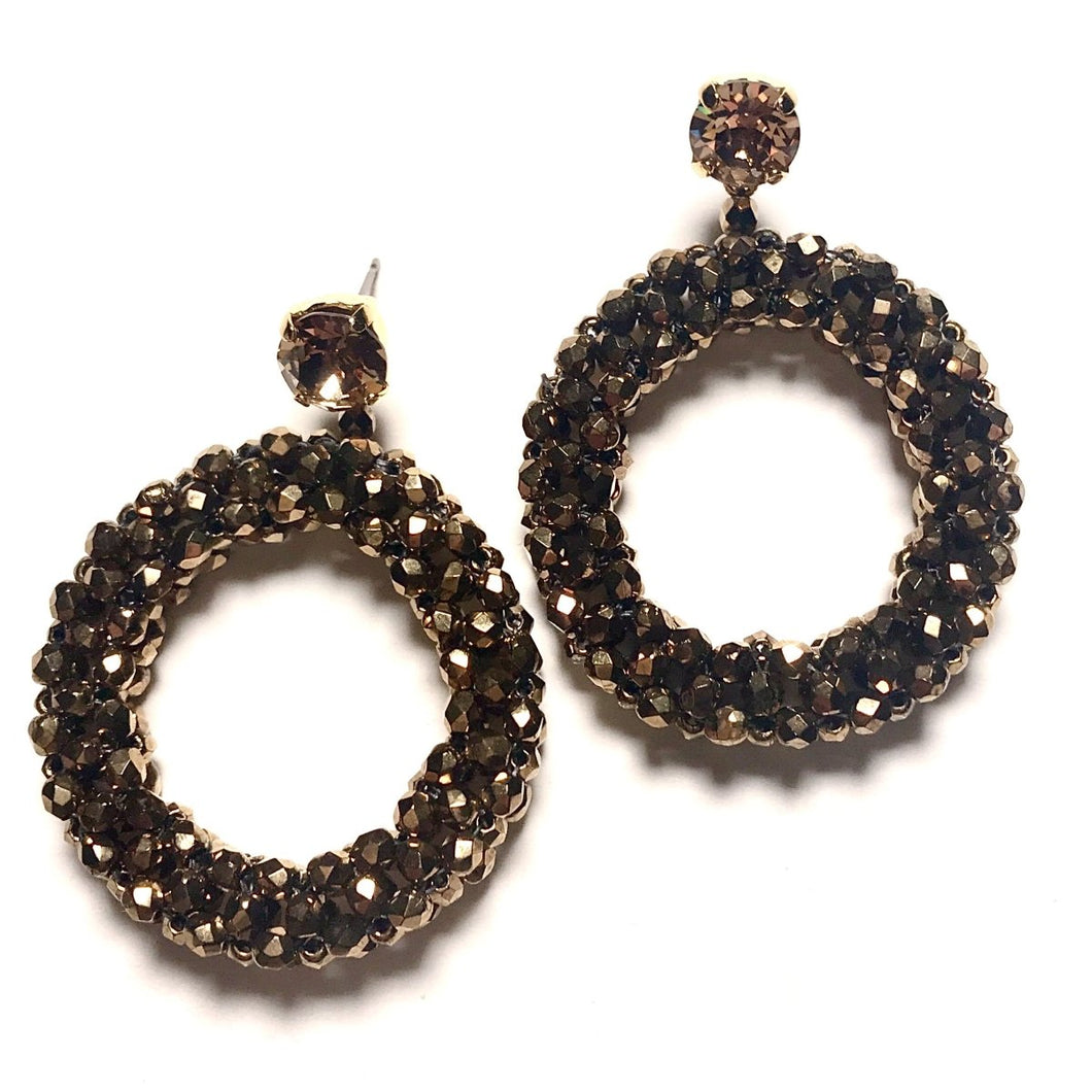 Petite Hoop Earrings - Angela Clark Boutique