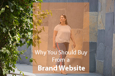 Why should you buy from a brand website?