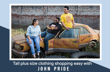 Tall Plus Size Clothing Shopping Made Easy with John Pride