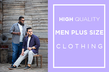 High Quality Men's Plus Size Clothing at John Pride
