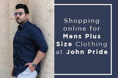 Shopping Online for Mens Plus Size Clothing at John Pride