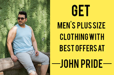 Get Men's Plus Size Clothing with Best Offers at John Pride
