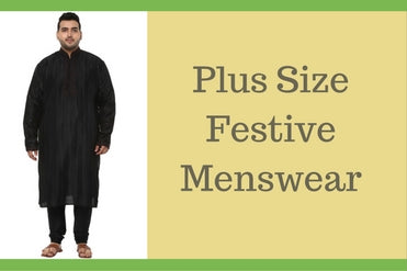 Men Plus Size Festive Wear Online