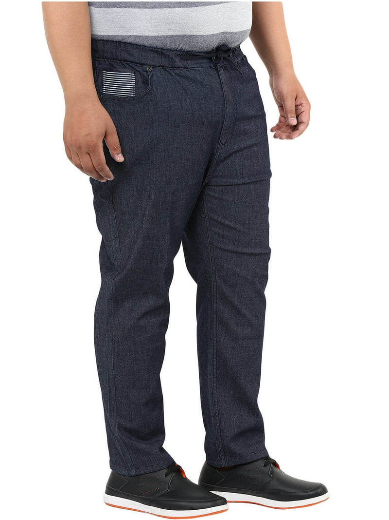 Blue Rinse Washed Jeans- 1142