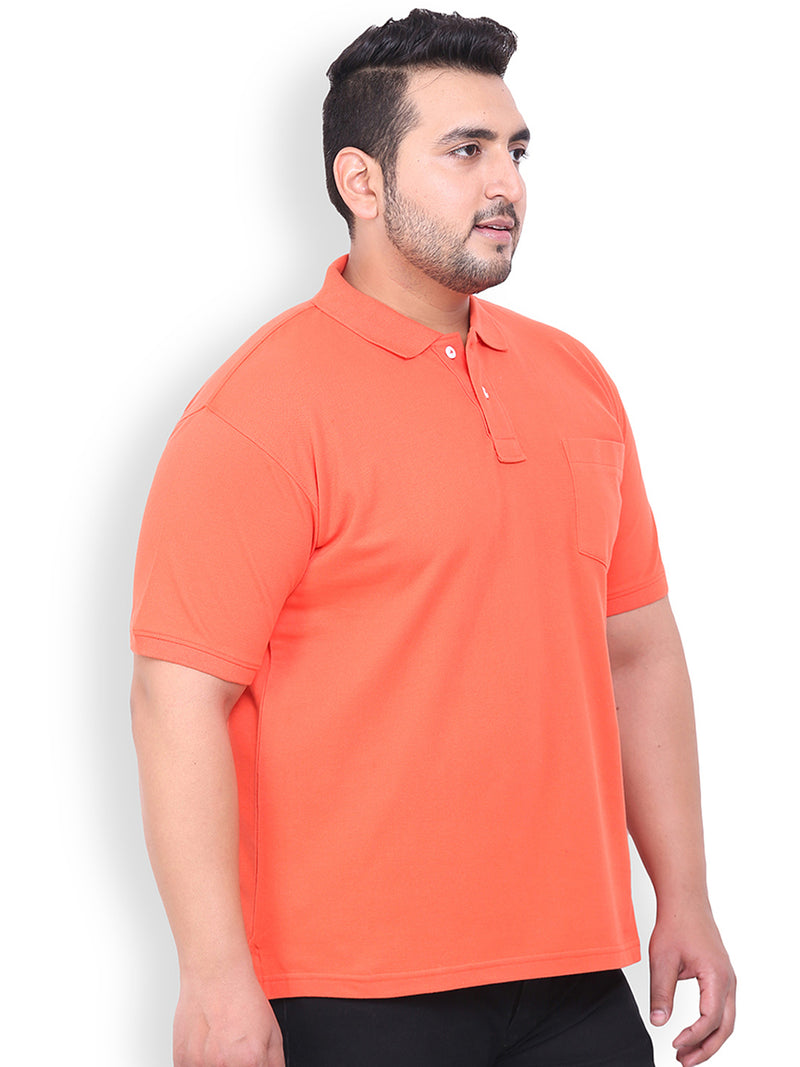 Unassuming Cotton Polo T-Shirt- 3105A