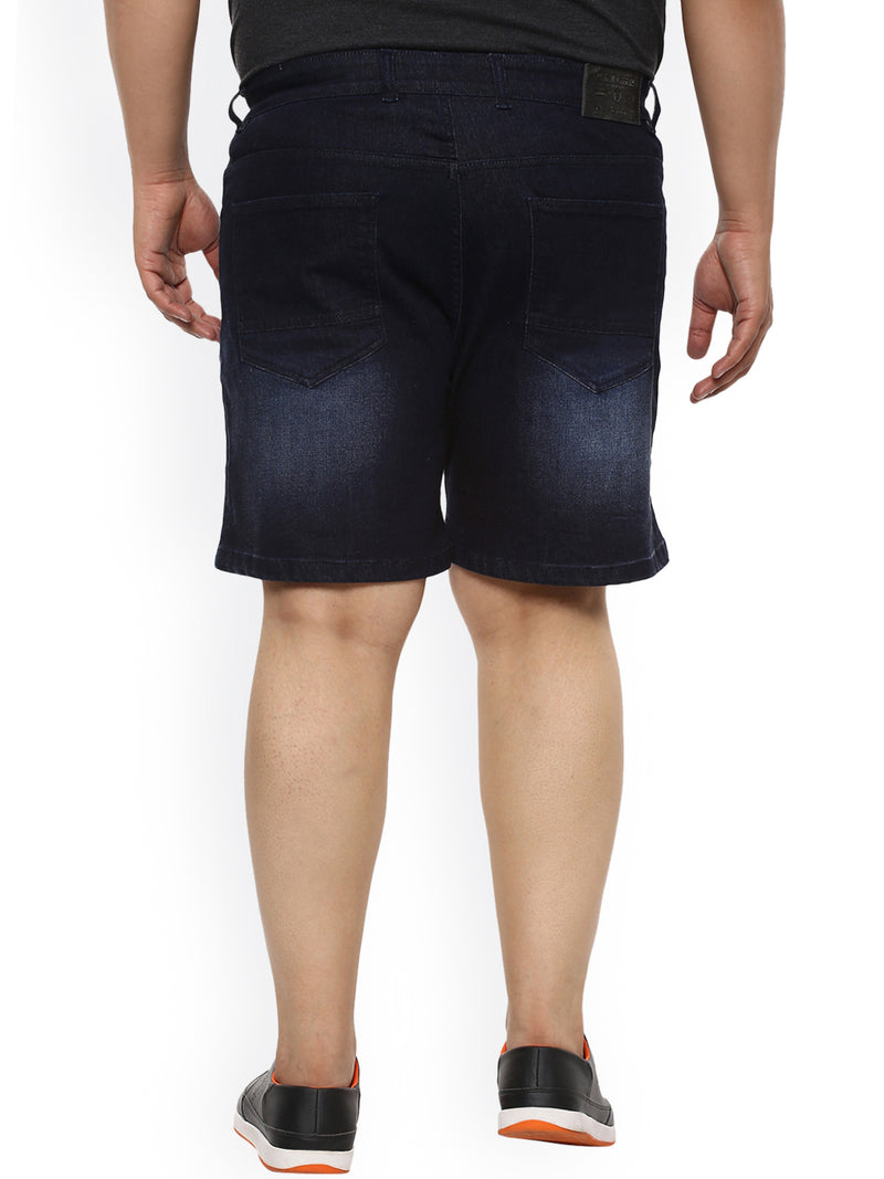 Dark Blue Shorts- 6611