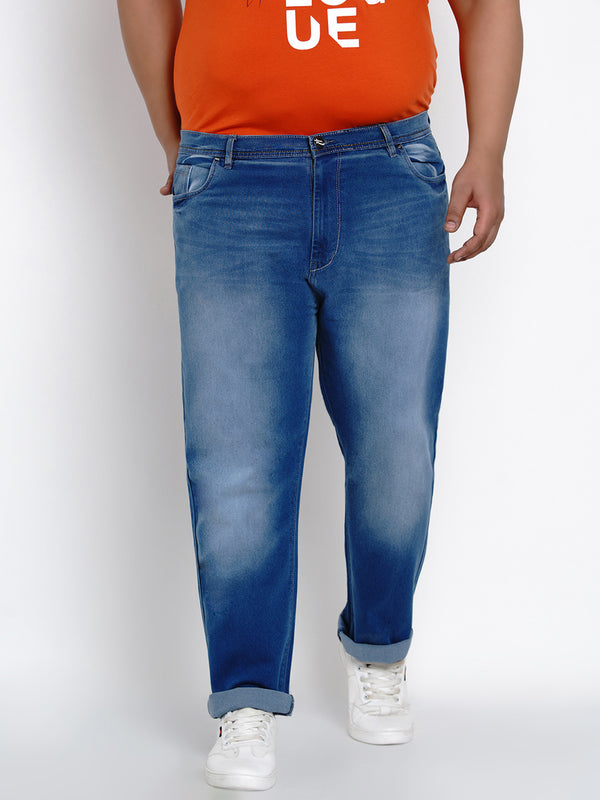 Mystic Blue Stretch Jeans - 1276