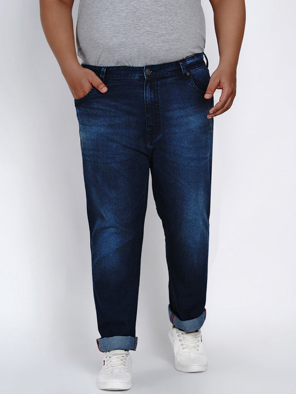 DARK BLUE STRETCH JEANS - 2014