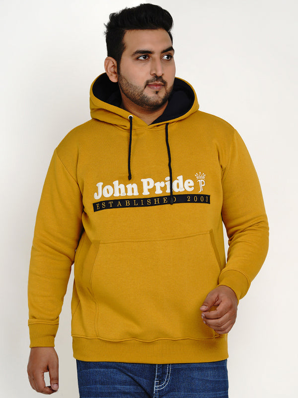 MUSTARD COMFORT SWEATSHIRT WITH POCKETS - 7600