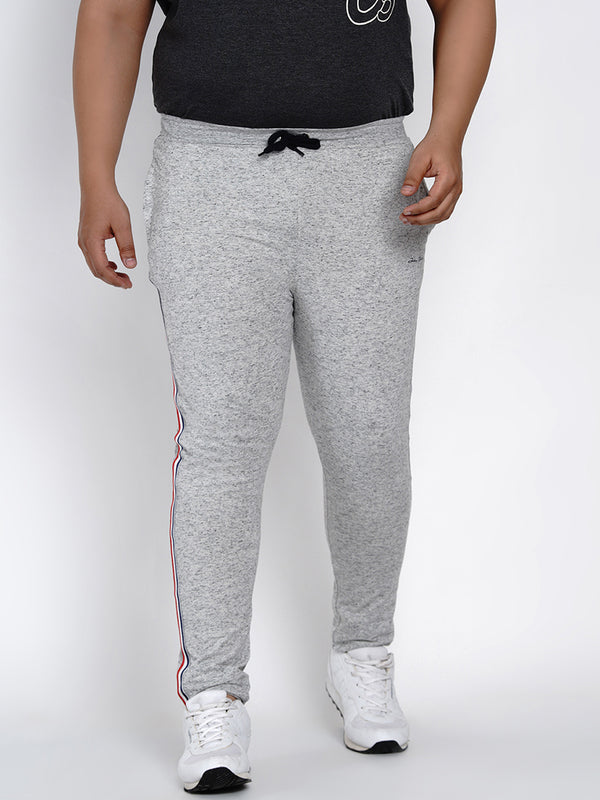 Grey Straight fit Cotton Trackpants - 765