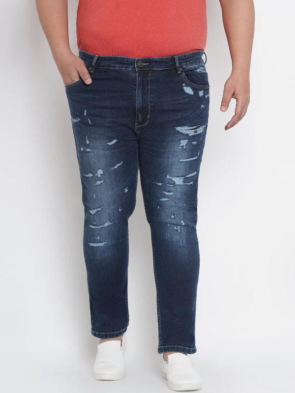 Highly Distress Smart Fit Stretchable Jeans- 1263