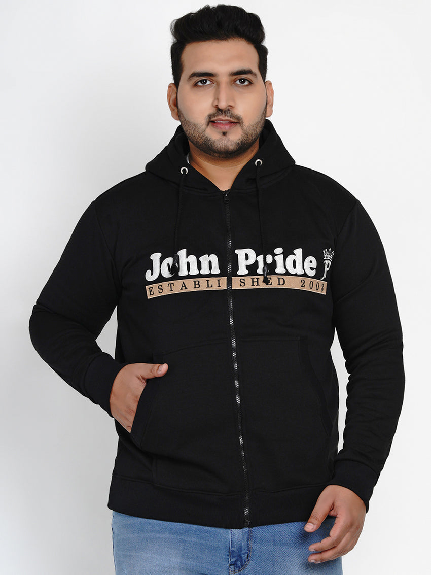 BLACK FLEECE HOODED SWEATSHIRT - 7591