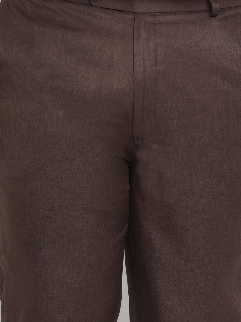 Brown Formal Trousers- 2251D