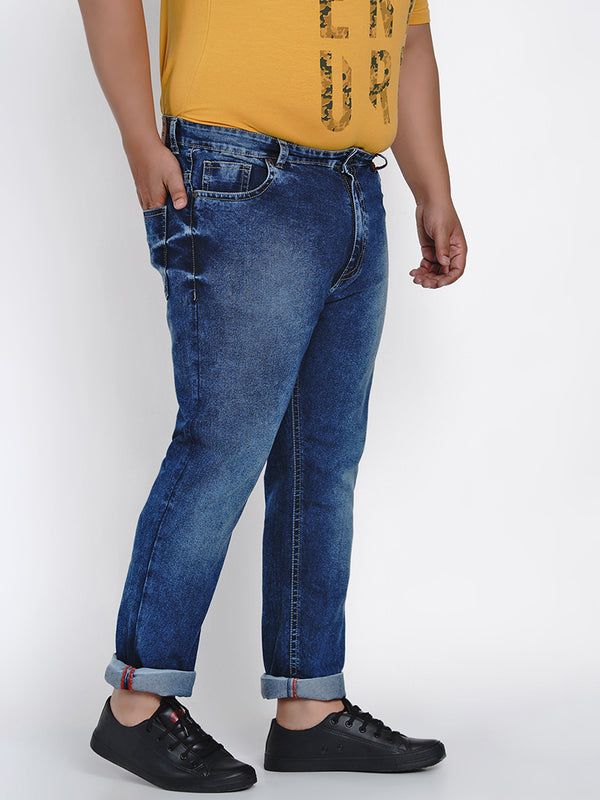 CERULEAN BLUE STRETCH JEANS - 2013