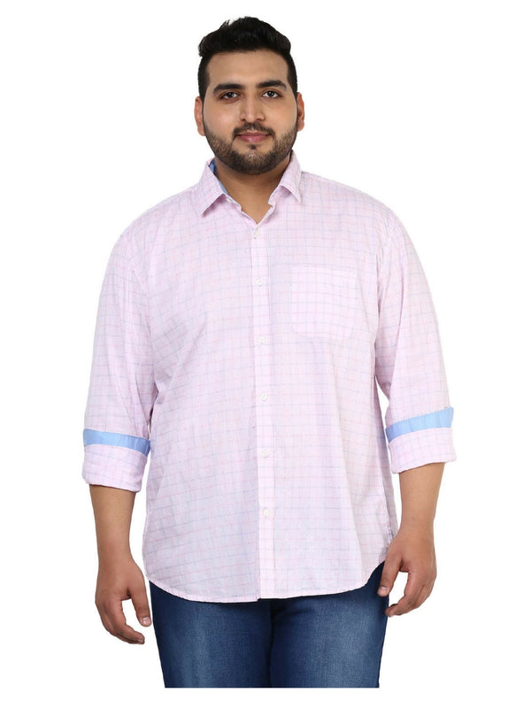 Pink Cotton Shirt- 4114A
