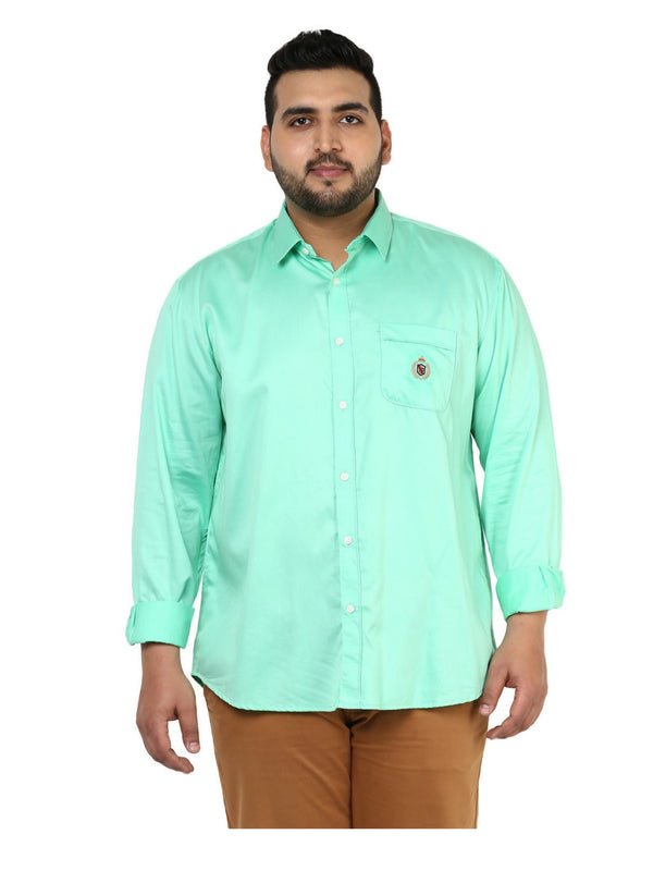 Green Casual Shirt- 4116C
