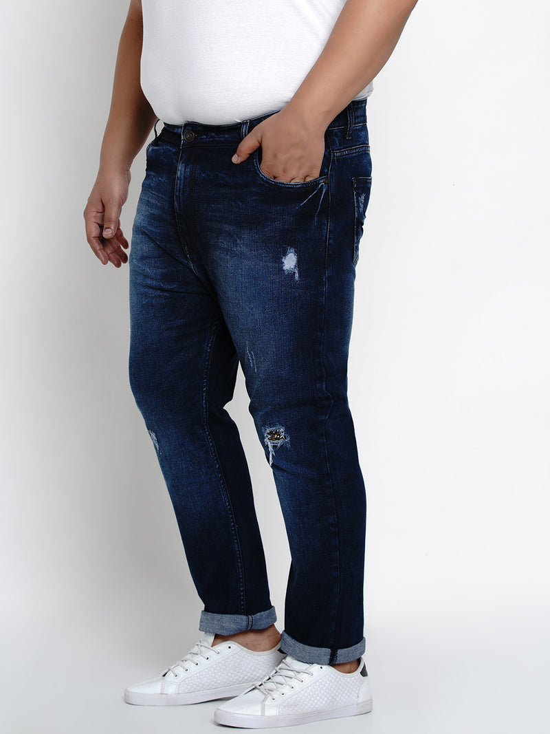 Dark Blue Stretch Jeans - 1270
