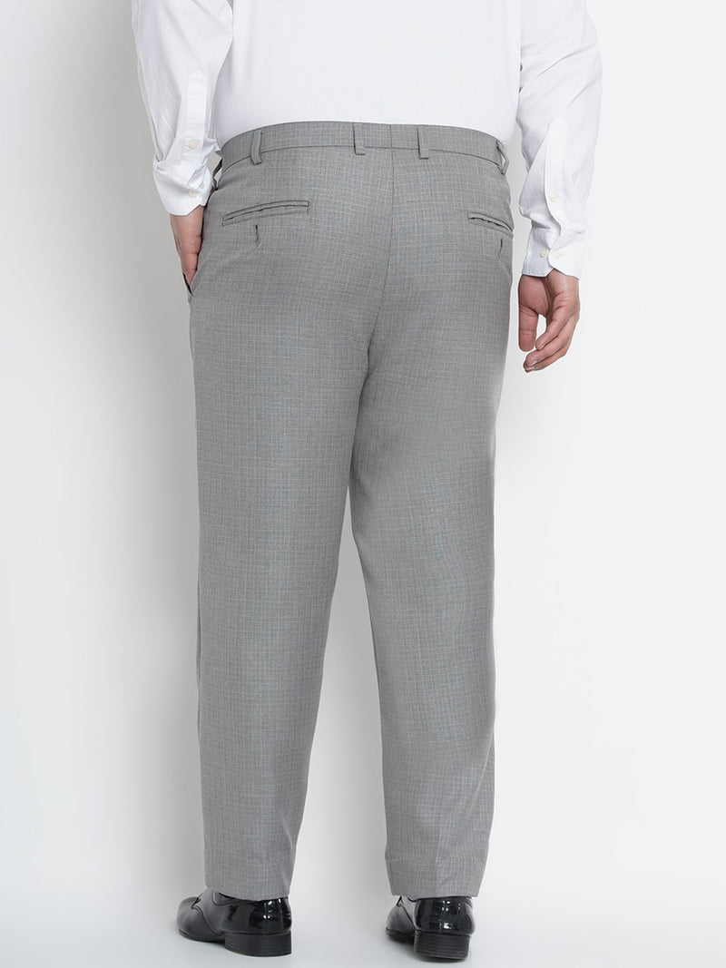 Grey  Formal Trousers- 2250B