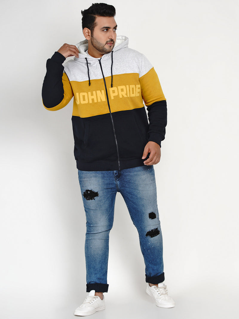 GREY JOHN PRIDE COLOR BLOCKED SWEATSHIRT- 7606