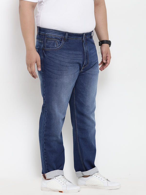Blue Stretchable Jeans- 1188