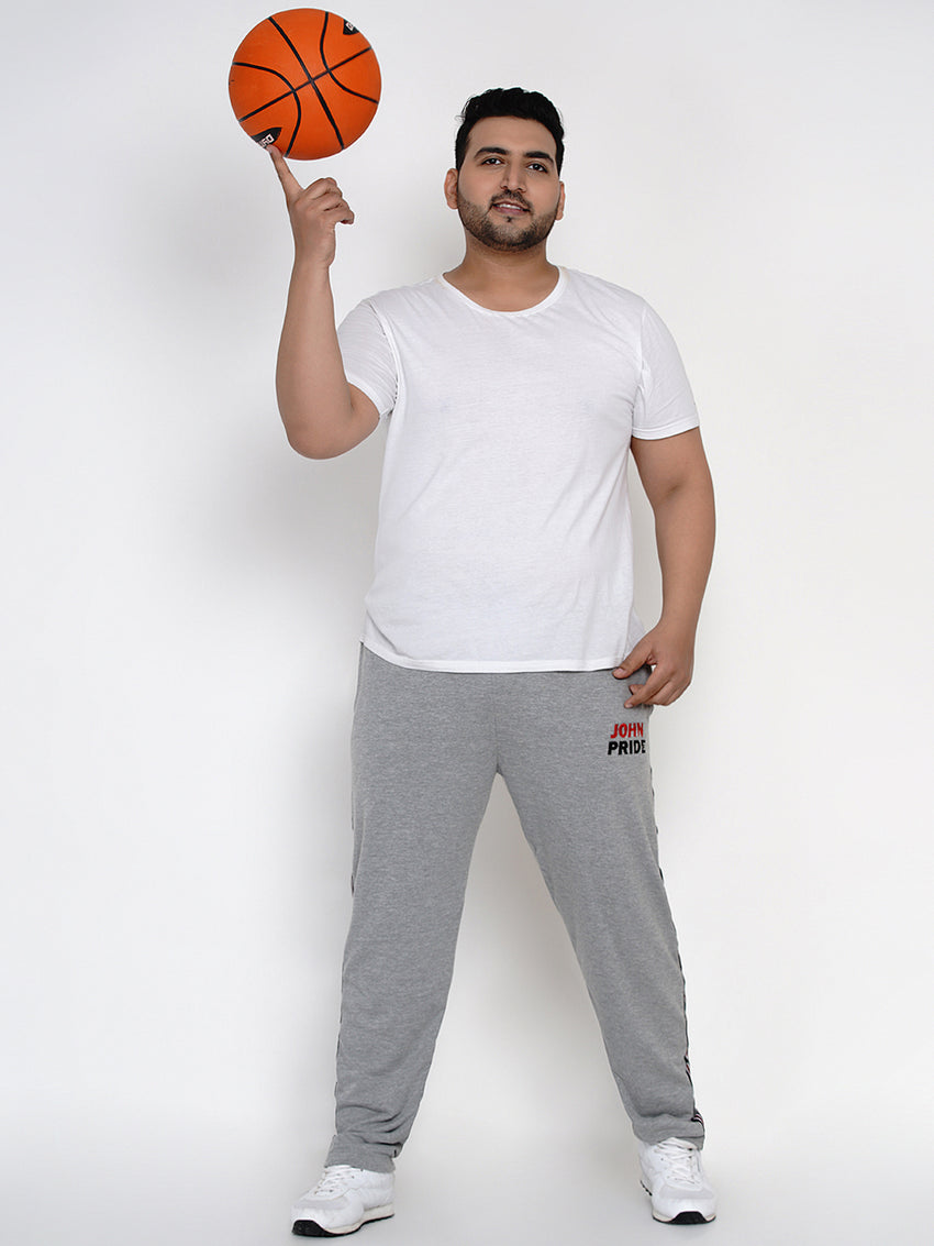 GREY STRAIGHT FIT LOWER-775C