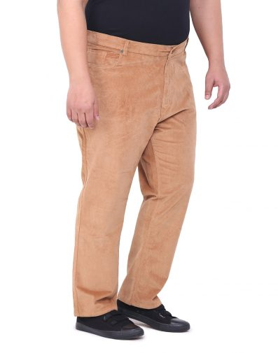 Brown Cotton Trouser