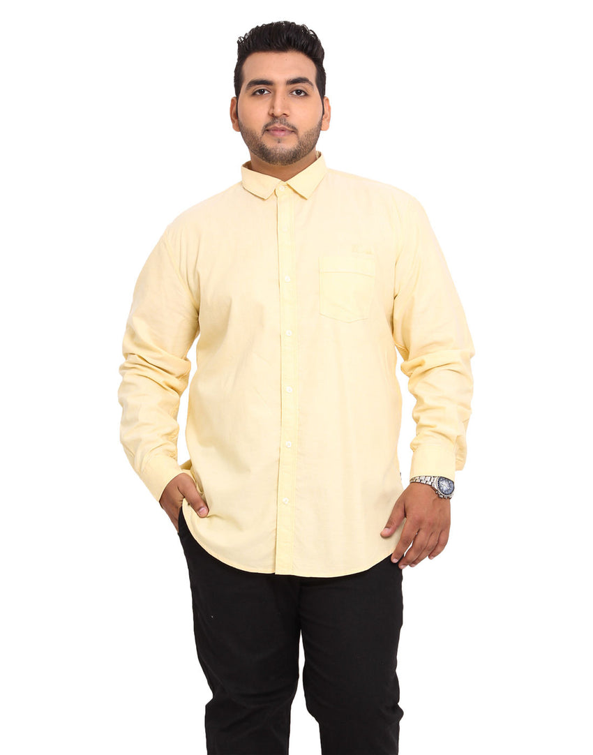 John Pride Yellow Coloured Shirt - 2108C