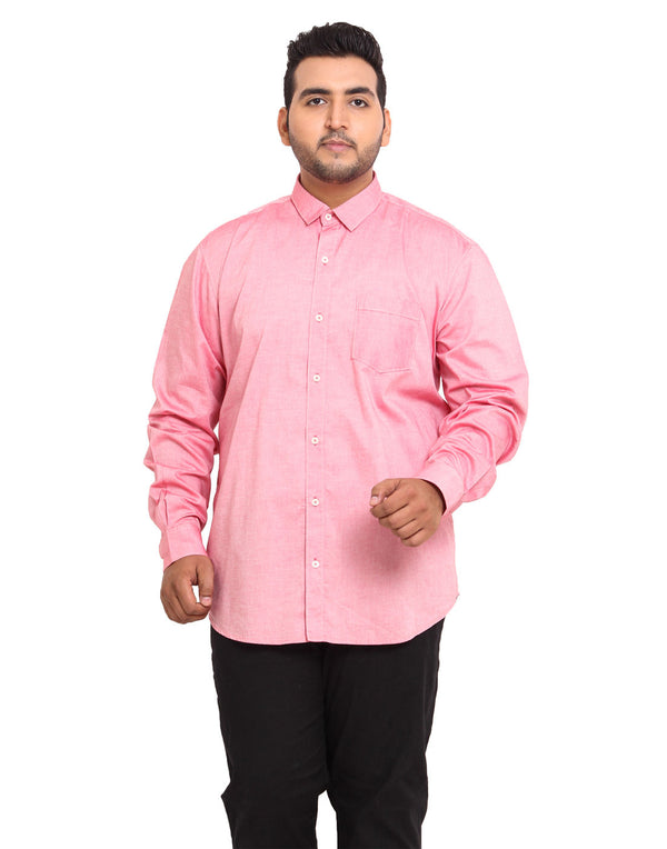John Pride Pink Coloured Shirt - 2109A