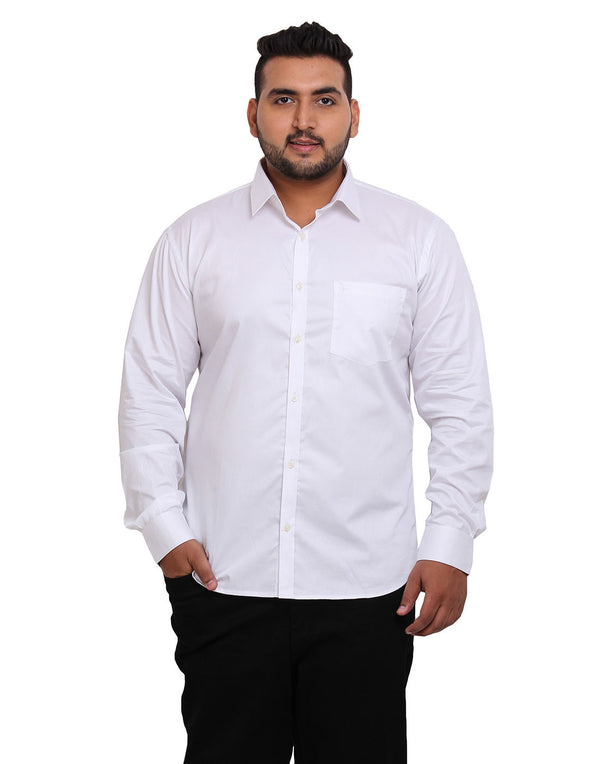 White Cotton Shirt - 4112A