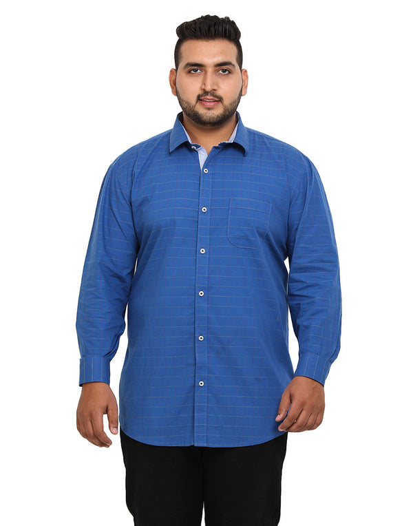 Blue Cotton Shirt - 2159C
