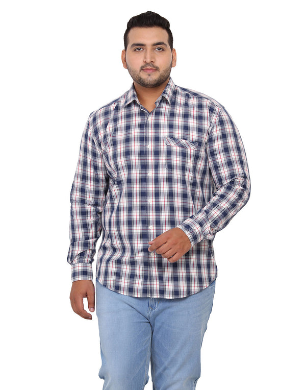 Multi Check Cotton Shirt - 2175A
