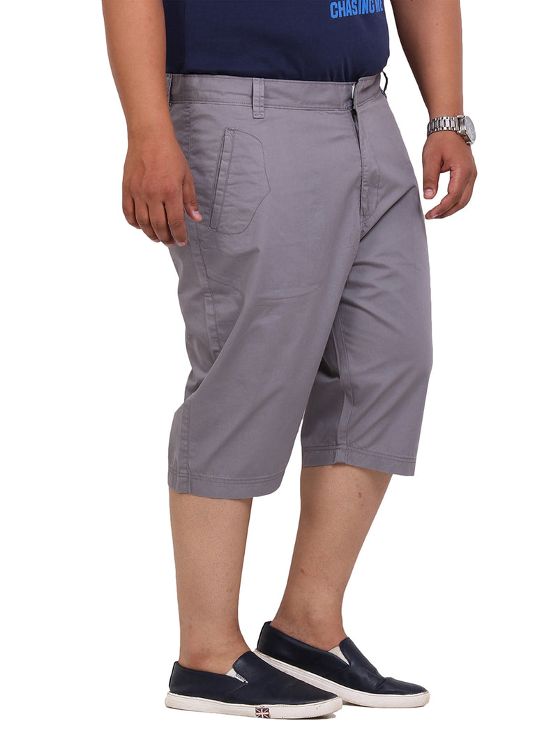 Grey Smart Fit Capri-6101F