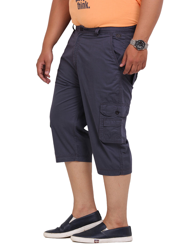 Blue Smart Fit Capri-6102C