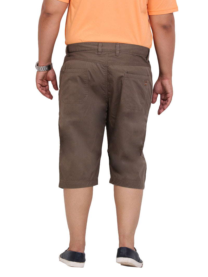 Brown Smart Fit Capri-6101D
