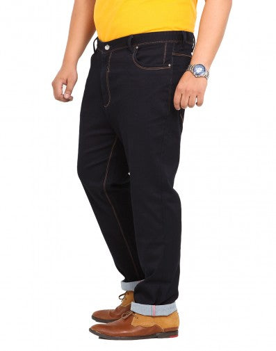 Dark Blue Cotton Stretch Jeans- 1550