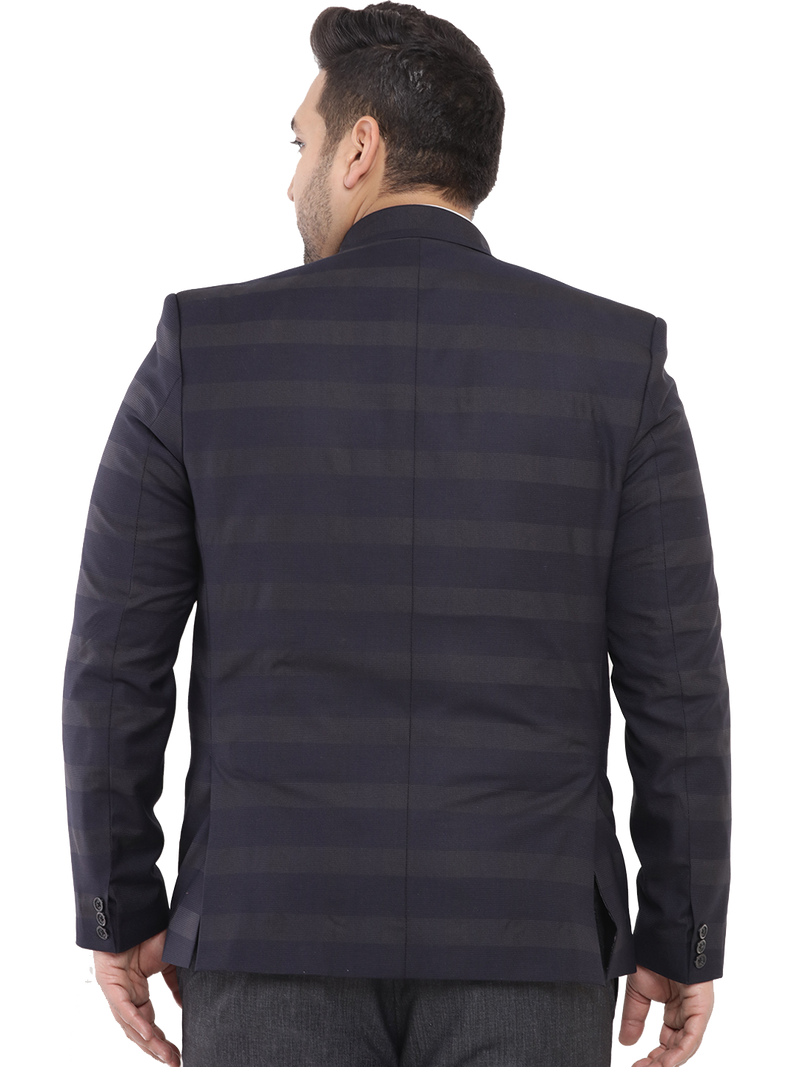 Blue Smart Fit Blazer-7720