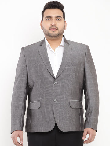 Grey Smart Fit Blazer-7723