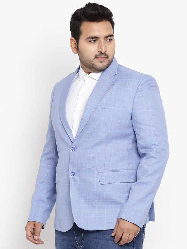 Cornflower Blue Smart Fit Blazer - 7724