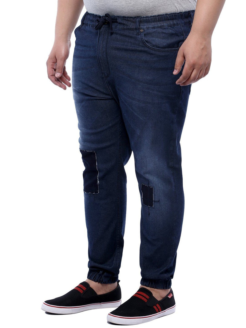 Blue Denim Jogger- 1180